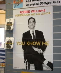 Buchplakat Poster Plakat Robbie Williams
