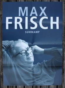 Plakat Max Frisch