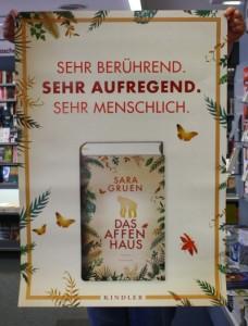 Poster Sara Gruen, Das Affenhaus