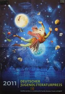 Plakat Deutscher Jugendliteraturpreis 2011