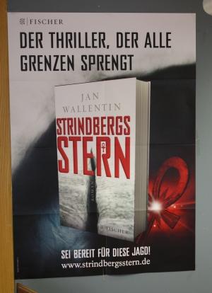 Plakat Strindbergs Stern