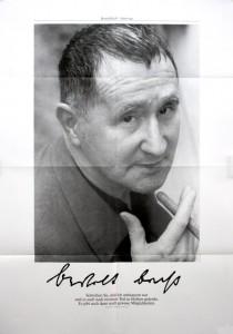Poster Bertold Brecht