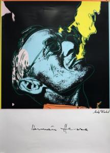 Warhol, Hesse Plakat