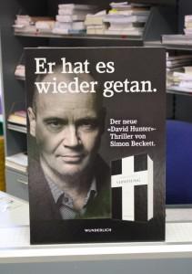 Poster David Beckett Aufsteller