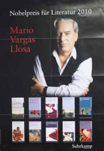 Literaturnobelpreis 2010 Mario Vargas Llosa