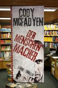 Hängeplakat Der Menschenmacher Bastei Verlag