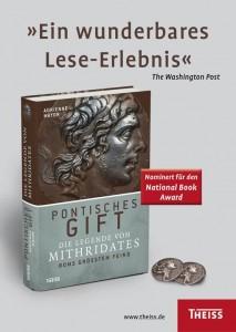 Buchplakat vom Theiss Verlag