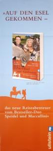 Plakat Zwei Esel auf Sardinien