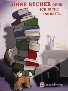 Ohne Bücher gehe ich nicht ins Bett