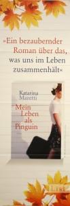 Plakat Buch Katarina Mazetti
