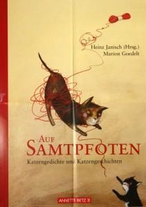 Buchplakat Katzengeschichten