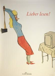 Poster Lieber Lesen